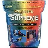 Wagners 62037 Supreme Plus Wild Bird Food, 10-Pound Bag