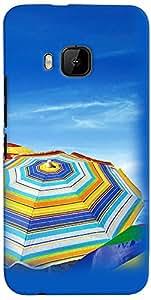 PRINTVISA 3D-HTCM9PLUS-D8119 Travel Beach Case Cover for HTC One M9+