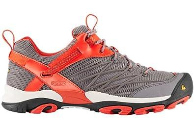KEEN Men's Marshall Hiking Shoe,Gargoyle/Spicy Orange,9 M US