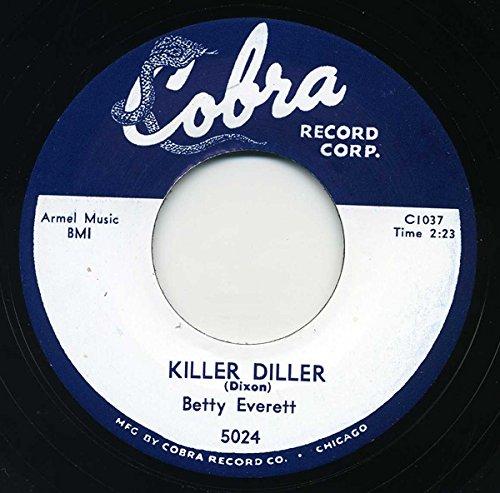 EVERETT, Betty Killer Diller/Ain't Gonna Cry 45rpm
