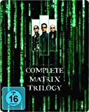 COMPLETE MATRIX TRILOGY STEELBOOK BLU-RAY BRAND NEW AND SEALED