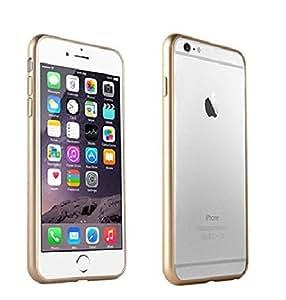 Unico Ultra Thin Premium Metal Bumper Case Cover For Apple iPhone 6 (Gold)