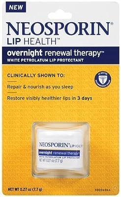 Neosporin Lip Health Overnight Renewal Therapy 0.27 oz