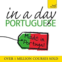 Portuguese in a Day  by Elisabeth Smith Narrated by Elisabeth Smith