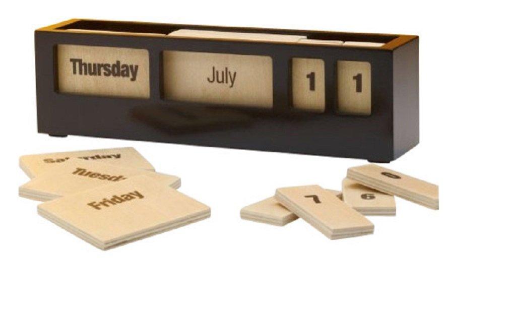 Perpetual Calendar Black