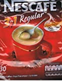 Nescafe 3 in 1 Regular Instant Coffee 30 Sticks (600g)