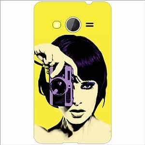 Printland Designer Back Cover for Samsung Galaxy Core 2 Case Cover