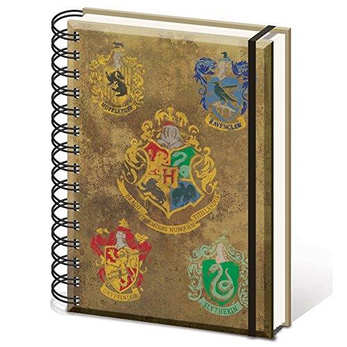 harry-potter-sr72083-hogwarts-crests-a5-wiro-notebook