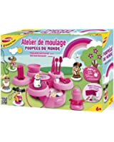 Joustra - 43512 - Kit de Loisir Créatif - Poupée du Monde - Atelier de Moulage