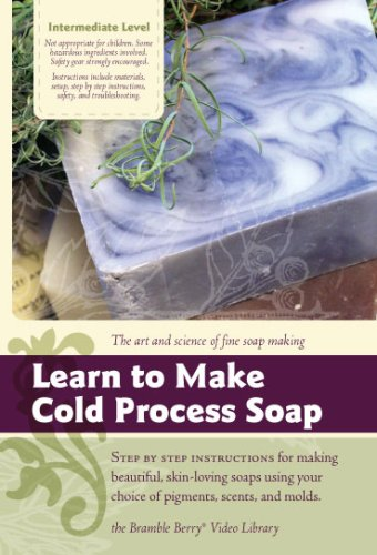 Soapmaking Series: Learn To Make Cold Process Soap