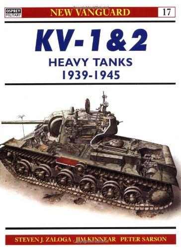 KV-1 & 2 Heavy Tanks 1939-45 (New Vanguard)