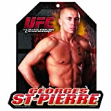 UFC George St Pierre 11 X 13 Wood Mascot/Player Sign