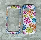 White Daisy Design Hard Case Cover for Lg Vu Plus Gr700