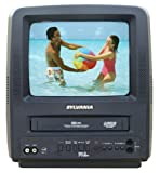 Sylvania SSC092 9-Inch Portable TV/VCR Combo