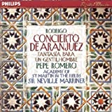 Rodrigo : Concierto de Aranjuez (Concerto d'Aranjuez) / Fantasia para un gentilhombre
