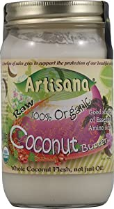 Artisana 100% Organic Raw Coconut Butter -- 16 oz