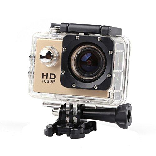 Magideal SJ4000 Waterproof 12MP 1080P Full HD Sports Action Digital Camera Gold