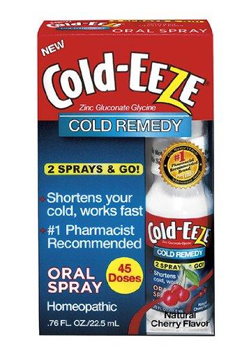 Froid Eeze Oral Spray, arôme naturel de cerise,