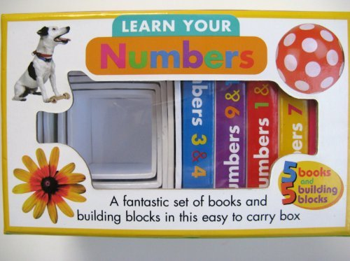 Learn Your Numbers Book and Block Set - 1