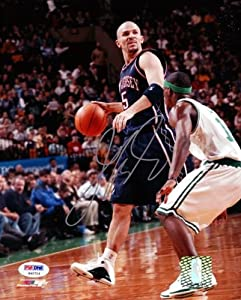 Jason Kidd Autographed Hand Signed 8x10 Photo Nets PSA DNA #S40714 by Hall of Fame Memorabilia