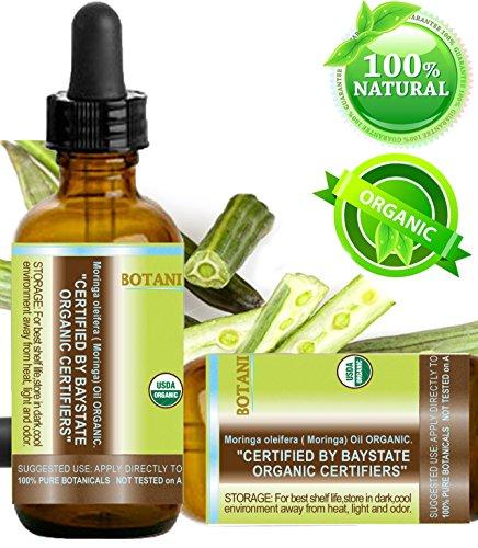 Moringa Oil Certified Organic 100 Pure Natural