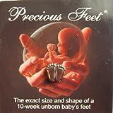 "Pro-Life ""Precious Feet"" Lapel Pin - Silver"