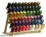 61 Spools Disney Embroidery Machine Thread PLUS Rack Organizer