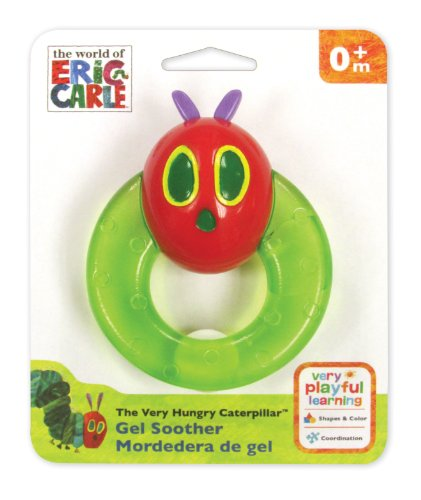 World of Eric Carle, The Very Hungry Caterpillar Gel Soother by Kids Preferred - 1