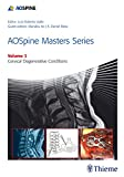 img - for AOSpine Masters Series Volume 3: Cervical Degenerative Conditions book / textbook / text book