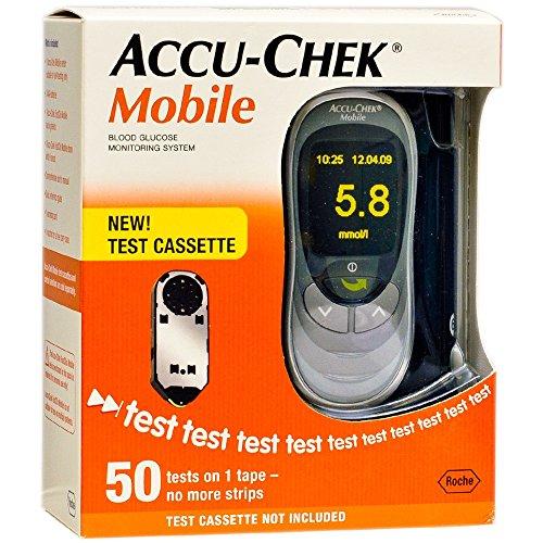 accu-chek-mobile-misuratore-glicemia-50-test