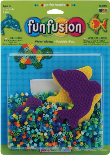 Perler Beads Fun Fusion Fuse Bead Activity Kit: Water Whimsey