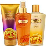 Victoria's Secret Garden Collection Vanilla Lace Body Mist, Body Lotion, Hand And Body Cream (New Look)