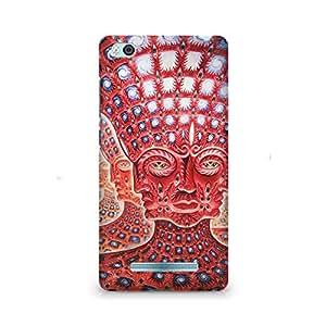 Ebby Psychedelic Faces Premium Printed Case For Xiaomi Redmi Mi5