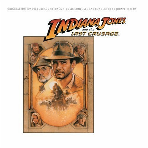 Indiana Jones & Last Crusade by John Williams, Bruce Morgenthaler, Milton Nadel, Richard Feves and Timothy Barr