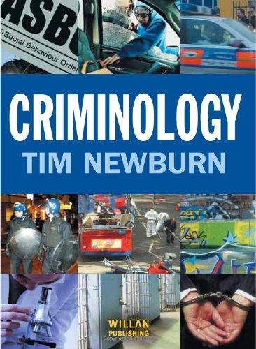 Criminology: Volume 1