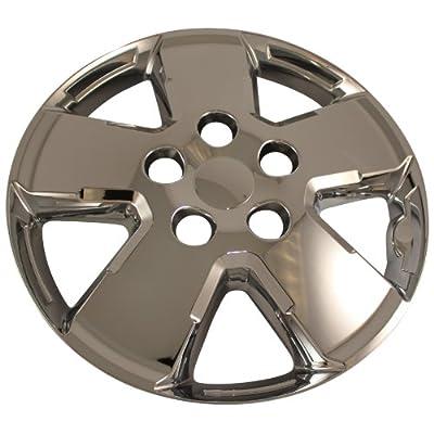 "4 New Chrome 16"" Wheel Skin Hub Caps for 2008 - 2012 Ford Escape XLS, XLT"