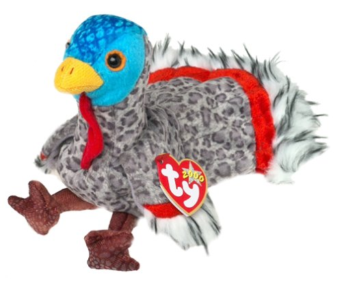 TY Beanie Baby - LURKEY the Turkey - 1