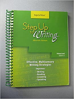 step up to writing tools Framed paragraphs are pre-writing tools that help students write  students  could pair up, write their own frames, and then trade texts and frames and  complete.