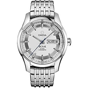 Omega DeVille Hour Vision Silver Dial Stainless Steel Automatic Mens Watch 431.30.41.22.02.001