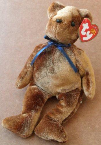 1 X TY Beanie Babies TED-E the Bear Plush Toy Stuffed Animal - 1