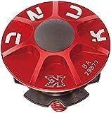 KCNC ヘッドセットパーツ KCNC SLアヘッドキャップセット 1-1/8 レッド 506302