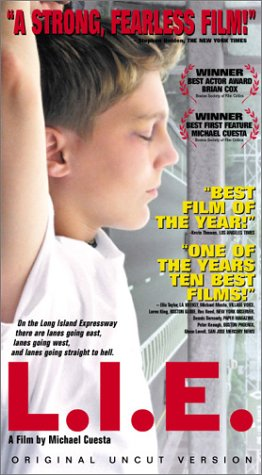 L.I.E. [VHS] [Import] Brian Cox Paul Dano Bruce Altman Billy Kay James Costa New Yorker Video