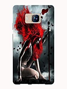 TREECASE Designer Printed Soft Silicone Back Case Cover For Reliance Jio Lyf Wind 2