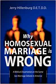 Is gay marriage bad