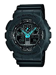 Casio G Shock GA-100C-8AER G-Shock Uhr Watch Montre Orologio: Watches