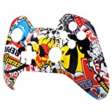 Extremerate Hydro Dipped Sticker Bomb Front Up Top Shell For Xbox One Controller