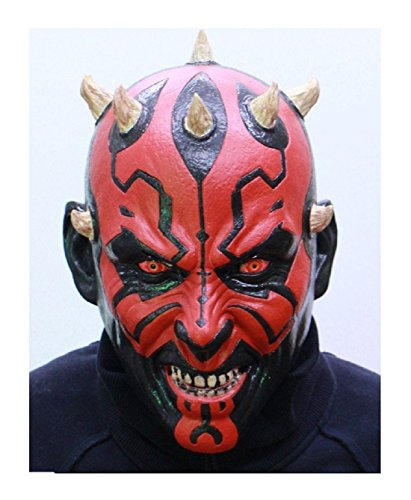 [NEW Star Wars Darth Maul Rubber mask Made in Japan Ogawa studio] (Baby Corn Bunting Costumes)