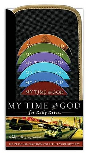 My Time with God for Daily Drives: 120 Personal Devotions to Fuel Your Busy Day