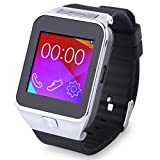Intelligente Smartwatch Orologio Bluetooth Sync SMS Phone Book con Camera Function + Headphone Headset Per Android...
