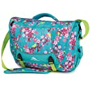 High Sierra Tank Backpack, Birds and Blossoms/Tropic Teal/Chartreuse, 18 x 13.5 x 7-Inch